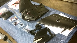 UNBOXING & BUILD Sonicmodell AR Wing Pro 1000mm Wingspan FPV Flying Wing