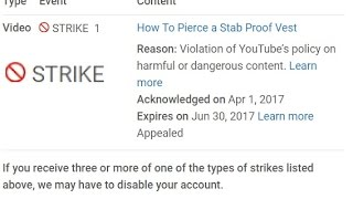 Last video? YT may shut me down. I need your HELP.