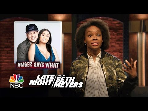 Amber Says What?: Rob Kardashian and Blac Chyna's Breakup