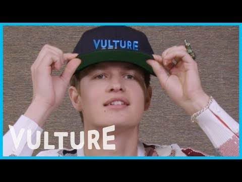 Ansel Elgort Really Hates Our Vulture Hats
