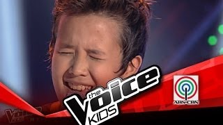 """The Voice Kids Philippines Blind Audition """"Grow Old With You"""" by Juan Karlos"""