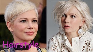 Michelle williams hairstyle (2018)