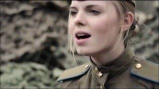 "На позицию девушка провожала бойца. ""Огонёк"" | War songs. Girl accompanied soldier at the front"