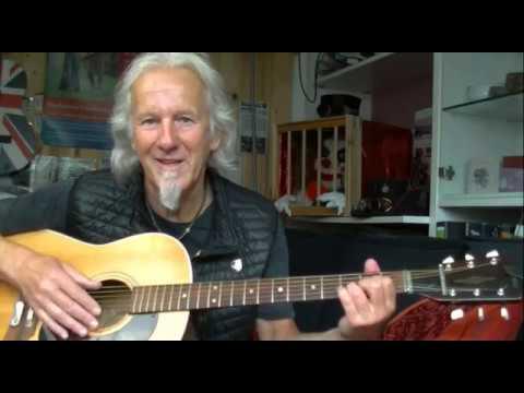 Celtic guitar for beginners (no capo) - Part2