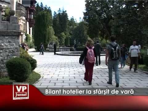 Bilanţ hotelier la sfârşit de vară