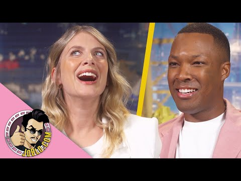 Melanie Laurent & Corey Hawkins Interview for 6 Underground