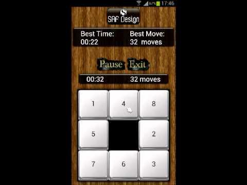 Video of Nostalgic Sliding Puzzle Game