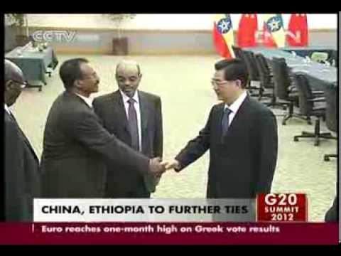 VIDEO  CHINA, ETHIOPIA TO FURTHER TIES CCTV News   CNTV English