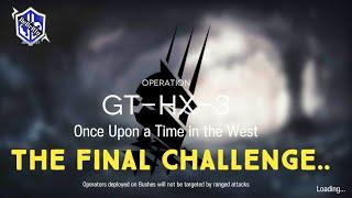 Shaw  - (Arknights) - Arknights - GT-HX-3 Final Challenge (3★ +Shaw)