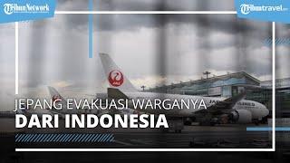 Jepang Evakuasi Warganya dari Indonesia, Begini Alasannya