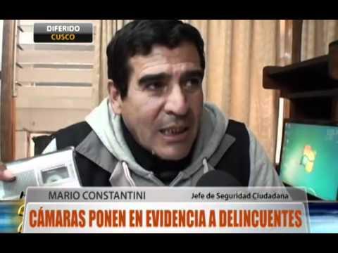 CUSCO: Cámaras ponen en evidencia a delincuentes