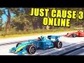 Just Cause 3 Multijugador Locuras Velocidad Y Misiles O