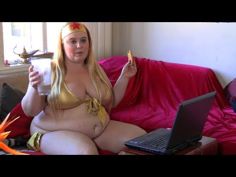 Big Beautiful Woman Funnel Feeder: BBW Wants To Be As Fat As Possible