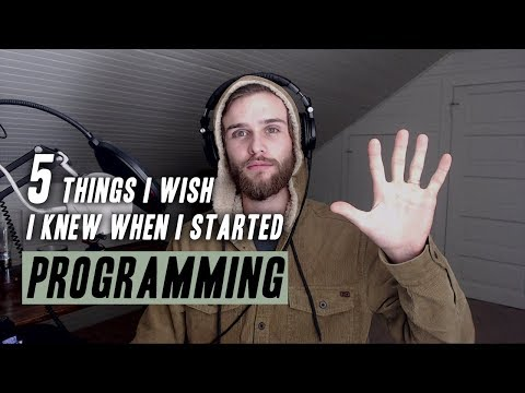 5 THINGS I WISH I KNEW When I Started Programming