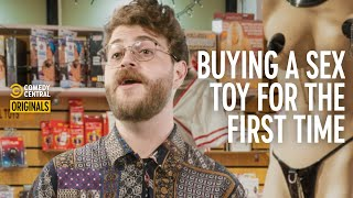 Buying A Sex Toy For The First Time   Cody Sucks