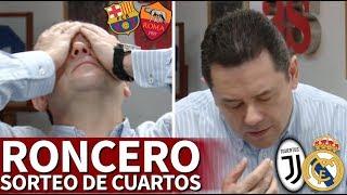 La reacción de Roncero tras ver los rivales de Real Madrid y Barcelona en cuartos | Diario AS