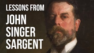 What We Learn From JOHN SINGER SARGENT About Painting | Painting Masters 11