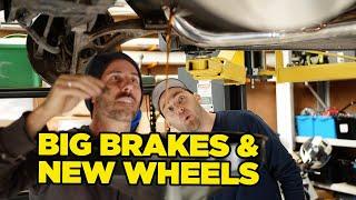 Brembo Brakes, Shocks & Full JDM Wheel Restoration // Marty's WRX STI