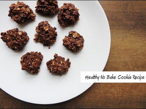Healthy, Easy No Bake Cookie Recipe