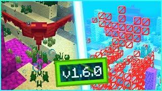 ВЫШЕЛ НОВЫЙ РЕЛИЗ Minecraft pe 1.6.0, ДОБАВИЛИ ФАНТОМОВ + БЛОК БАРЬЕРА!