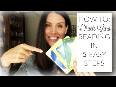 How To Do An Oracle Card Reading In 5 Easy Steps | Kristin Vergara