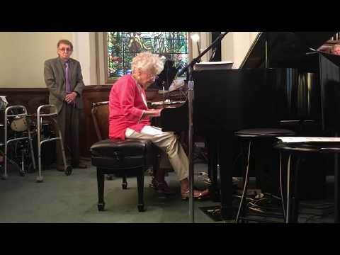 98-Year-Old Gives a Brilliant Live Piano Performance!
