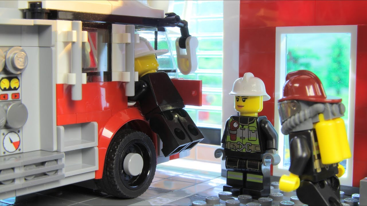 Lego City Fire Rescue (Emergency Toy Vehicles for Kids)