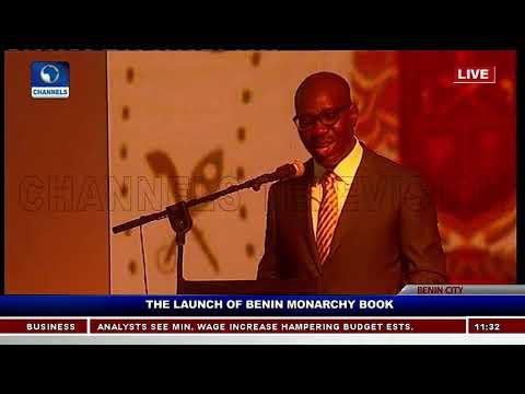 Europe Will Return Artifacts Taken During Expedition-- Obaseki  |Benin Monarchy Book Launch| (видео)