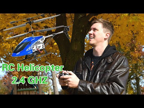 SGILE Remote Control Helicopter Toy UNBOXING/REVIEW