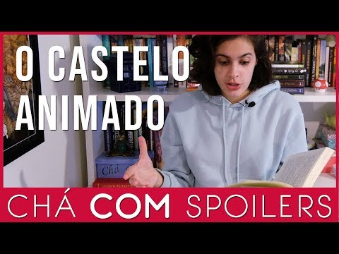 O Castelo Animado - Diana Wynne Jones - Chá COM Spoilers