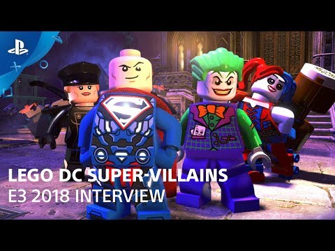 LEGO DC Super-Villains – Gameplay Demo | PlayStation Live From E3 2018