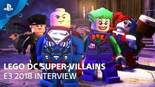 LEGO DC Super-Villains - Gameplay Demo   PlayStation Live From E3 2018
