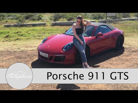 2017 Porsche 911 GTS Coupé und Cabriolet Test / 911 GTS Rennstrecke (ENGLISH Subtitles) - Autophorie