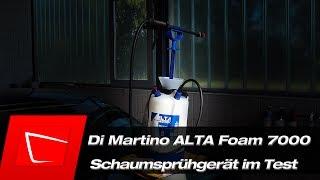 ALTA Foam 7000 Di Martino - Test - Gloria FM50 Alternative - Kwazar Orion Alta Foam 2000