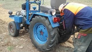 Ехал мимо.Самодельный трактор.