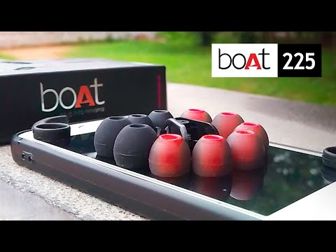 Boat Bass Heads 225 Earphones Unboxing & Review