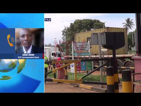 Goods stuck at Busia border finally cleared
