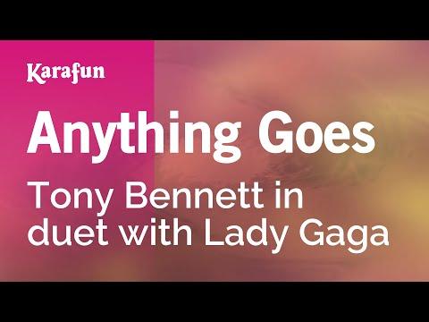 Karaoke Anything Goes - Tony Bennett *