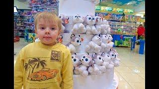 Игрушки Собачки Риша гуляет по магазину Антошка в Одессе Обзор Щенячий патруль Лего Risha Play Toys