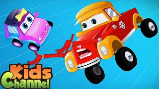 Baby's Day Out | Super Car Royce | Car Cartoons Videos | Vehicle Rhymes from Kids Channel