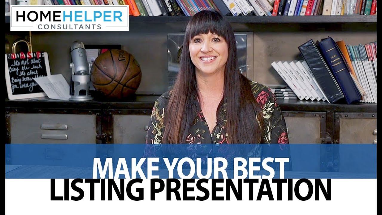 3 Tips for Making the Best Listing Presentation