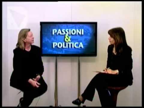 La presidente di Friends of Florence, Simonetta Brandolini d'Adda è ospite della Trasmissione Passioni & Politica, condotta da Elisabetta Matini.