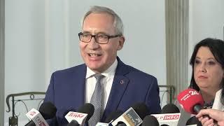 H. Kowalczyk, K. Smoliński – Konferencja prasowa PiS w Sejmie  cz 3