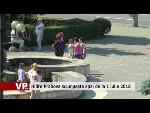 Hidro Prahova scumpește apa, de la 1 iulie 2018