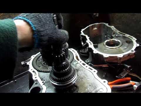 Фольксваген Гольф 5. Ремонт КПП. Шум на стоячую.