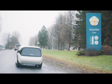 Cleveron: Autonomes Lieferfahrzeug mit Greifarm