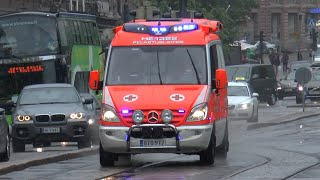 preview picture of video 'Ambulance HE 1322 Mercedes-Sprinter Helsinki [FI | 6.2014]'