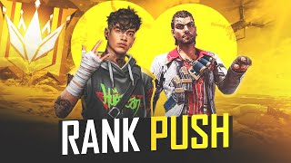 Free Fire Live Gold to GrandMaster Rank Push - Garena Free Fire