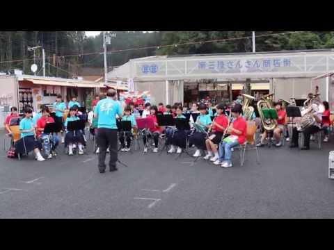 汐路中学校と志津川中学校ジョイントコンサート
