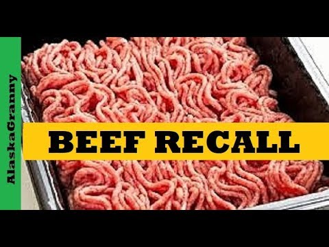 Beef Recall Check Your Freezer for Contaminated Beef